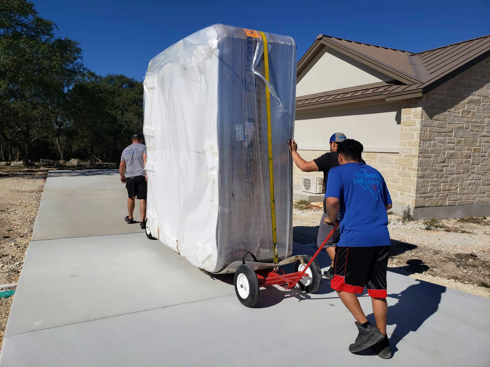 Spa Moving Services - New Braunfels Moving Company